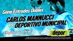 Carlos A. Mannucci vs. Deportivo Municipal: Depor te regala 10 entradas dobles - Noticias de fútbol peruano