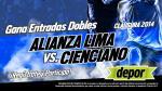 Alianza Lima vs. Cienciano: Depor te regala entradas dobles - Noticias de alianza lima