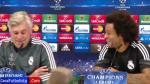 Real Madrid: Marcelo pidió renovación de Ancelotti en conferencia de prensa (VIDEO)