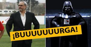 Manuel Burga debe tener a Darth Vader entre sus ídolos, si de él aprendió todas las mañas del Lado Oscuro para manejar la FPF.
