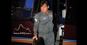 El plantel de Universitario, con Óscar Ibáñez a la cabeza, llegó sin contratiempos a Cusco. (José Carlos Angulo)