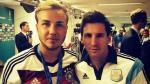 Mario Götze y Lionel Messi: ¿fue una provocación esta foto en la final del Mundial? (VIDEO)