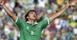 Bolivia: Marcelo Martins Moreno / Uno de los jugadores más efectivos que tiene Bolivia en ataque. Los goles de Marcelo Martins están valorizados en más de 2 millones de dólares. (AFP).