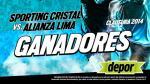 Sporting Cristal vs. Alianza Lima: estos son los ganadores de las entradas dobles - Noticias de bazalar garcia