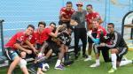 Sporting Cristal: Guty Carrera visitó la Florida y alentó a su equipo - Noticias de guty carrera