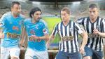 Sporting Cristal vs. Alianza Lima: habrá duelos de uruguayos en el Nacional
