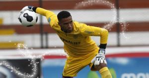 Pedro Gallese tapó en los dos amistosos ante Paraguay. (Leonardo Fernández/Alexander Bustillos)