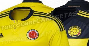 Colombia viene de derrotar 1-0 a Eslovenia en partido amistoso jugado a mitad de semana. (Todosobrecamisetas.com)