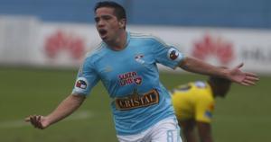 Maximiliano Núñez ha anotado doce goles este año con Sporting Cristal. (USI/Mauricio Motta)