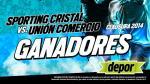 Sporting Cristal vs. Unión Comercio: estos son los ganadores de la entradas dobles - Noticias de san simón de moquegua