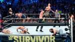 El duelo entre el Team Cena y 'La Autoridad' fue una lucha de poder a poder. (WWE)