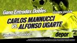 Carlos A. Mannucci vs. Alfonso Ugarte: Depor te regala 10 entradas dobles