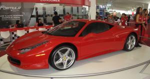 Este Ferrari 458 Italia se robó todas las miradas. (Foto: Pablo Bermúdez)