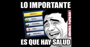 Después de saber que jugaremos ante Brasil, Colombia y Venezuela, algunos tiraron la toalla antes de tiempo. (Hincha Peruano Oficial)