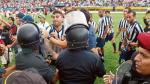 Alianza Lima: así fue la pelea entre jugadores y la policía en la cancha - Noticias de freddy arellanos