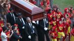 Chespirito: así fue la ceremonia de su entierro en México (FOTOS) - Noticias de ht