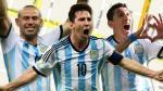 Pueblo Argentino llama Messi, Mascherano y Di María a sus calles (VIDEO)