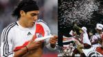 River Plate: Radamel Falcao felicitó a sus ex compañeros por el título