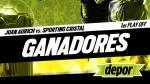 Juan Aurich vs. Sporting Cristal: estos son los ganadores de las entradas dobles - Noticias de bryan carrasco