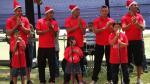Juan Aurich grabó canción navideña con niños especiales