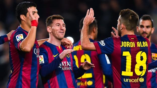 Barcelona alcanzó los 38 puntos y está a uno del Real Madrid, que tiene un partido menos. (Getty/Youtube)
