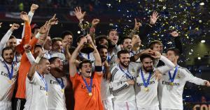 Real Madrid disputó de manera oficial su primer Mundial de Clubes y salió campeón. (AFP / JS)