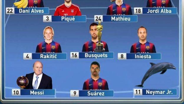 Real Madrid: así ven los hinchas a los jugadores de Barcelona ...