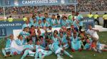 Sporting Cristal campeón: el plantel rimense cerró el año con el título nacional. Entre agosto y diciembre solo perdió 2 partidos.  (Celso Roldán)