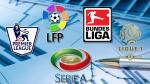 Liga BBVA, Serie A, Bundesliga, Premier League, Ligue 1: así quedaron las tablas antes de Año Nuevo - Noticias de villarreal b