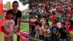 Carlos Zambrano y Juan Carlos Orderique repartieron regalos en el Callao