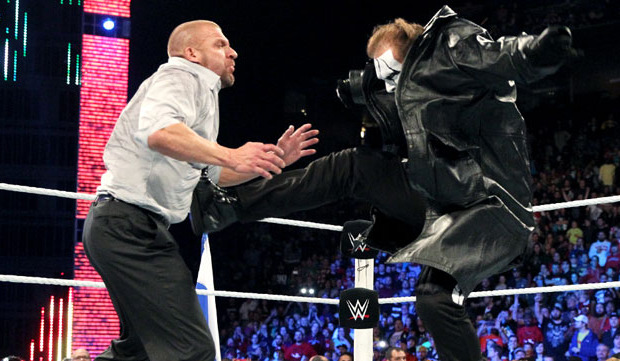 WWE: Triple H quiere luchar contra Sting en Wrestlemania ...