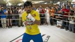 Twitter: Manny Pacquiao retó otra vez a Floyd Mayweather (FOTOS)