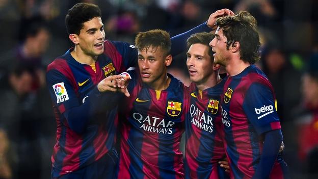 Messi y el Barca aplastan al poderoso El Che