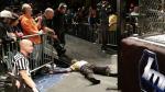 WWE: Jeff Hardy sufrió terrible caída desde una jaula de acero (VIDEO) - Noticias de real murcia