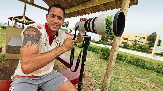 Braynner García tiene 28 años y es la primera vez que jugará fuera de su país. (Eddy Lozano/Andrea Closa)