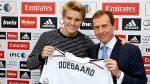Real Madrid: Martin Odegaard fue presentado como nuevo refuerzo en el Bernabéu - Noticias de cristian benavente