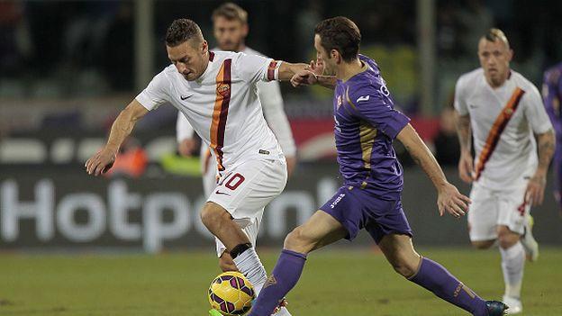 Roma es segundo en la tabla de la Serie A, detrás del líder Juventus. (Getty)