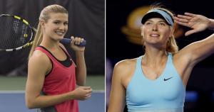Maria Sharapova y Eugenie Bouchard protagonizarán el duelo más esperado de cuartos en el Australian Open.