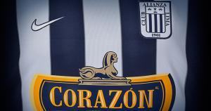 Alianza Lima presentó su nueva camiseta la cual tendrá la inscripción 'Corazón' en el pecho. (Nike)