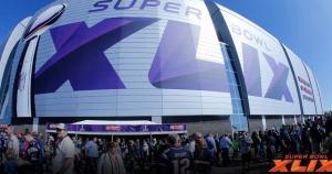 Los exteriores del estadio de Phoenix se encuentran abarrotados de hinchas. (Fotos: NFL)