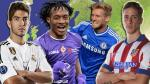 Serie A, Bundesliga, Premier League y Liga BBVA: los 27 fichajes más importantes - Noticias de aaron lennon