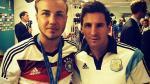 Mario Götze cree que Lionel Messi es inalcanzable