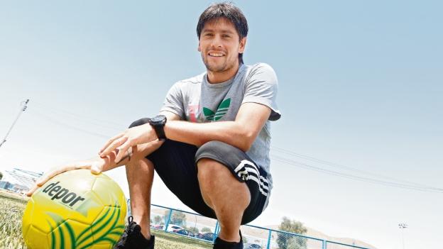 Diego Manicero jugó la temporada pasada en León de Huánuco. (Leonardo Fernández)