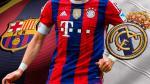Barcelona y Real Madrid: crack del Bayern Munich se ofreció para jugar en España - Noticias de francois gallardo