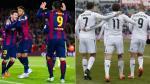 Barcelona vs. Real Madrid: ¿qué tridente tiene más goles en esta temporada?