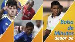 Torneo del Inca: Así va la bolsa de minutos tras la cuarta fecha - Noticias de juan aurich inti gas