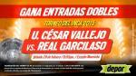 César Vallejo vs. Real Garcilaso: Depor te regala 20 entradas dobles - Noticias de real garcilaso vs. césar vallejo