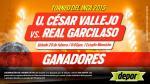 César Vallejo vs. Real Garcilaso: estos son los ganadores de entradas dobles - Noticias de andy valderrama