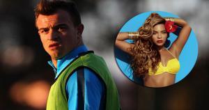 """Xherdan Shaqiri reveló que la exuberante """"Beyoncé le pone"""" en cuestión de música. (Getty Images)"""
