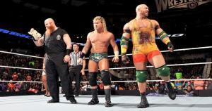 SmackDown: Erick Rowan, Dolph Ziggler y Ryback hicieron una espectacular entrada en el SmackDown. (WWE)